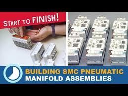 Building <b>SMC Pneumatic</b> Manifold Assemblies (Start to finish! )