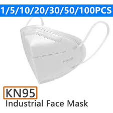 <b>10Pcs</b> Set <b>N95</b> Standard /<b>KN95</b> Face Mask Dustproof Face Mouth ...