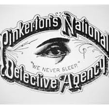 Image result for pinkerton detectives