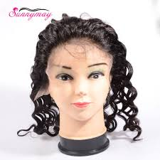 <b>Sunnymay</b> Loose Wave 13x4 <b>Lace Frontal With</b> Cap For Making ...