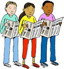 Image result for school newspaper clip art