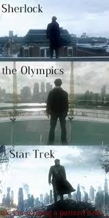 sherlock london Benedict Cumberbatch star trek olympics fun with ... via Relatably.com
