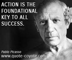 Pablo Picasso quotes - Quote Coyote via Relatably.com