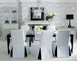 Fabric Dining Room Chair Covers New Ideas Dining Room Chair Slipcovers With Images Dining Room
