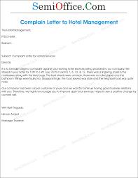 complaint letter hotel sample resume builder complaint letter hotel sample complaint letters sample letter templates complaint letter to hotel management