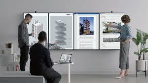 Microsoft представила гигантский дисплей для работы в офисе ...