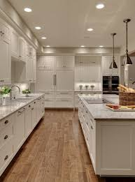 limed oak kitchen units: limed oak kitchen cabinets transitional with white kitchen