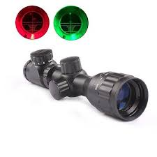<b>Hunting</b> Guns <b>2</b>-<b>6x32</b> AOEG <b>Red Green</b> Mil-dot Sight Rifle Scope+ ...