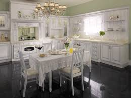 beautiful white kitchen cabinets: beautiful contemporary contrasts modern white kitchens cabinets granite countertops and floor white ceiling and light green wall paint colors are