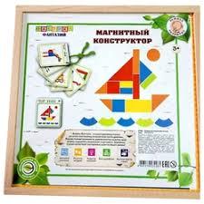 «<b>Деревянная игрушка Фабрика фантазий</b> Магнитный ...