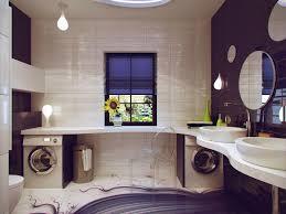 bathroom decor ideas unique decorating:  purple white bathroom design