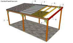 Carport Plans   Freestanding or Attached   PlansPin comBuilding a wooden carport