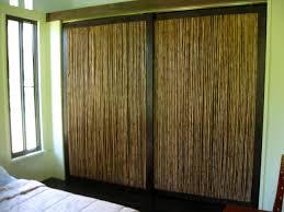 image of rustic bamboo closet doors inspirations charming mirror sliding closet doors toronto