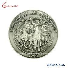 China <b>Custom</b> Metal <b>3D Antique</b> Silver Souvenir Coin <b>Wholesale</b> ...