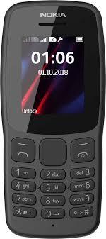 Купить <b>Сотовый телефон NOKIA</b> 106, серый в интернет ...