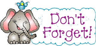 Image result for Don't forget