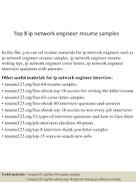 topipnetworkengineerresumesamples lva app thumbnail jpg cb