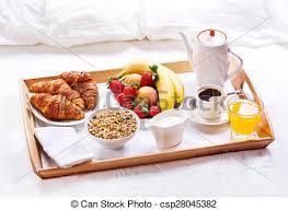 Risultati immagini per clipart colazione a letto