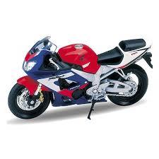 <b>Игрушка WELLY</b> 12164P <b>Модель мотоцикла</b> Honda CBR900RR ...