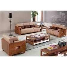 living room furniture modern wood sofa set china living room furniture