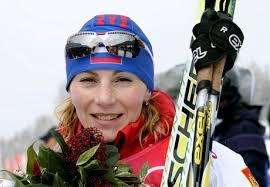 Albina Akhatova était la plus forte cet après-midi sur ce 15km , elle gagne devant la surprenante roumaine Tofalvi et sa compatriote Sleptsova. - akhatova