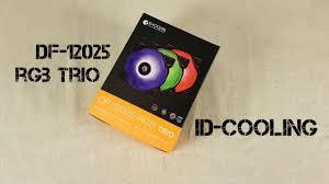 <b>ID</b> - <b>Cooling</b> DF - <b>12025</b> - <b>RGB Trio</b> - YouTube