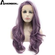 <b>Anogol</b> Glueless <b>High</b> Temperature Fiber <b>Natural Hairline</b> Hair Wigs ...