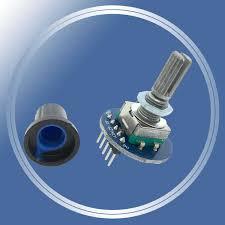 <b>2PCS</b>/LOT <b>Rotating Potentiometer Knob</b> Cap Digital Control Module ...