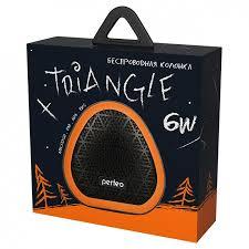 <b>Колонка</b> 1.0 <b>Perfeo TRIANGLE</b>, 6 Вт, Bluetooth, MP3, FM, 800 мАч ...