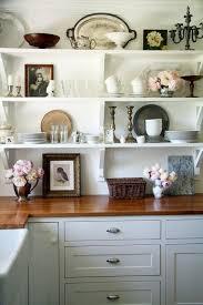 open kitchen design farmhouse: decorating shelves shelves decorating open kitchen shelves kitchen shelves design