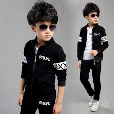 <b>New Spring Autumn</b> 2017 Baby Boys Clothing Set Black Boy Sports ...