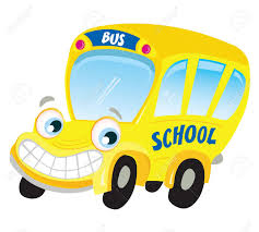 Image result for cute bus cartoon image