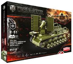 <b>Конструктор Zormaer</b> World of Tanks 65218 C-51 — купить по ...