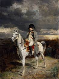 taxidermists restore napol atilde copy on s beloved white horse jean louis ernest meissionier 1814 1862 oil painting