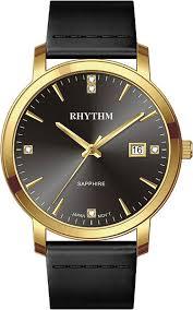 Купить <b>Мужские</b> японские наручные <b>часы Rhythm</b> PE1603L04 ...