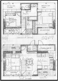 Straw Bale House Plan   Sq  Ft  Plan sq  ft URBAN  two level  two bedrooms  one bath