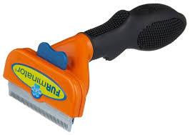 <b>Щетка</b>-<b>триммер</b> FURminator для короткошерстных собак ...