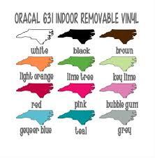 Oracal 631 Removable <b>Adhesive Vinyl</b> 12x12 Sheet Matte | Etsy