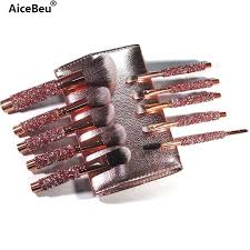 AiceBeu <b>10Pcs</b>/Set Diamond <b>Makeup Brushes</b> Kit <b>Women</b> Make Up ...