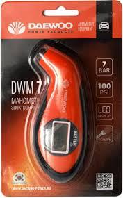 <b>Манометр цифровой Daewoo Power</b> Products DWM 7 купить в ...