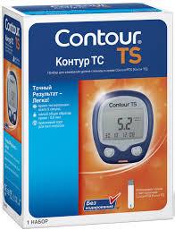 <b>Глюкометр Contour</b> TS — купить в интернет-магазине OZON с ...