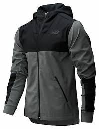 New Balance Men's <b>Fortitech Mixed Media</b> Lined <b>Jacket</b> Black | eBay