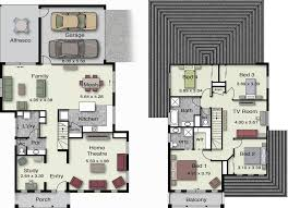 storey home for a corner block of land    floor plans     storey home for a corner block of land    floor plans   Pinterest   New Home Designs  Home Design and House Design