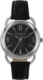 Женские <b>часы Romanson</b> Giselle <b>RL1220LW</b>(<b>BK</b>)<b>BK</b>