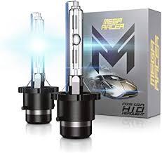 Mega Racer D2S Bulb 8000K Ice Blue D2S/D2R ... - Amazon.com