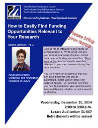 events programs graduate school of biomedical sciences umass details