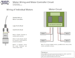 electrical power and wiring how to wire a robot motor wiring
