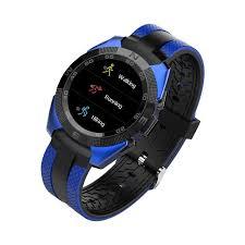 <b>Умные часы Prolike Jet</b> PLSW7000BL с цветным дисплеем, синие