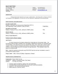 electronicengineerresumeformat electronic engineer resume sample