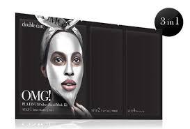 Double Dare - [<b>Double Dare</b>] <b>OMG</b>! Platinum Silver Facial Mask Kit ...